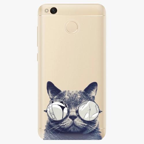Silikonové pouzdro iSaprio - Crazy Cat 01 na mobil Xiaomi Redmi 4X