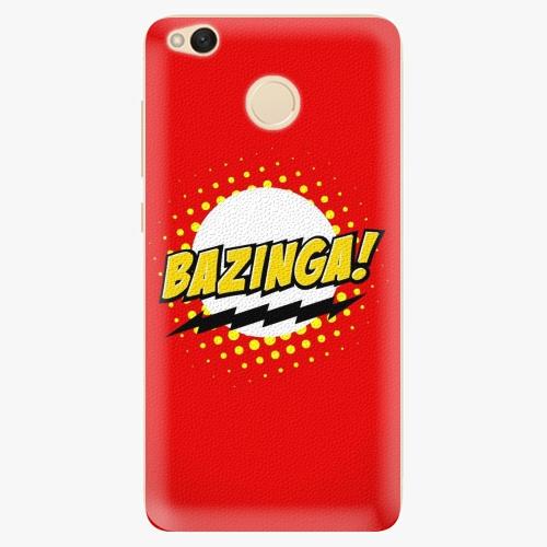 Silikonové pouzdro iSaprio - Bazinga 01 na mobil Xiaomi Redmi 4X