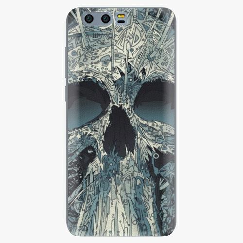 Silikonové pouzdro iSaprio - Abstract Skull na mobil Honor 9