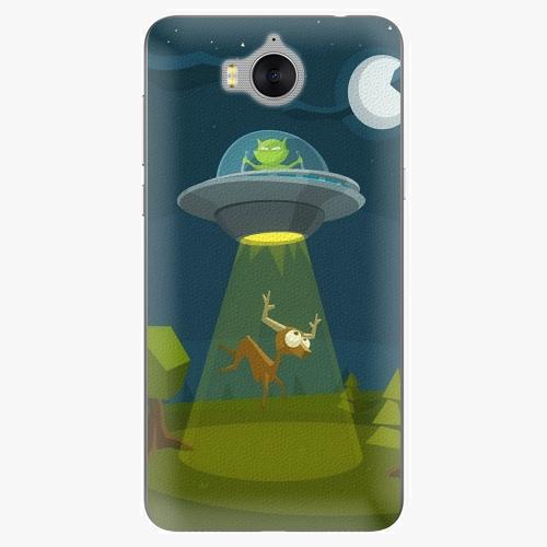Silikonové pouzdro iSaprio - Alien 01 na mobil Huawei Y6 2017