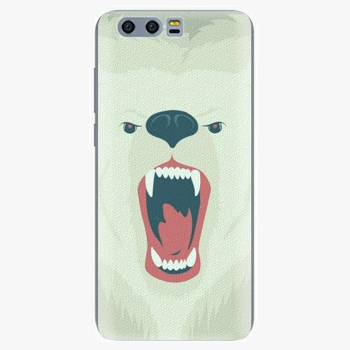 Silikonové pouzdro iSaprio - Angry Bear na mobil Honor 9