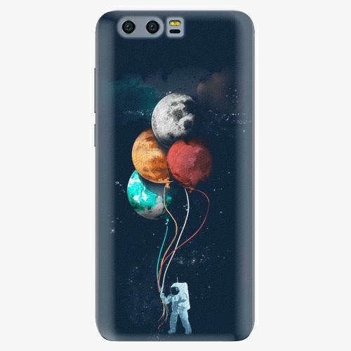 Silikonové pouzdro iSaprio - Balloons 02 na mobil Honor 9