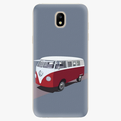 Silikonové pouzdro iSaprio - VW Bus na mobil Samsung Galaxy J5 2017