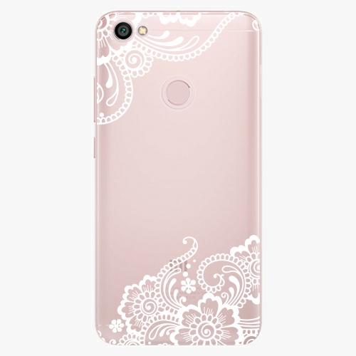 Silikonové pouzdro iSaprio - White Lace 02 na mobil Xiaomi Redmi Note 5A / 5A Prime