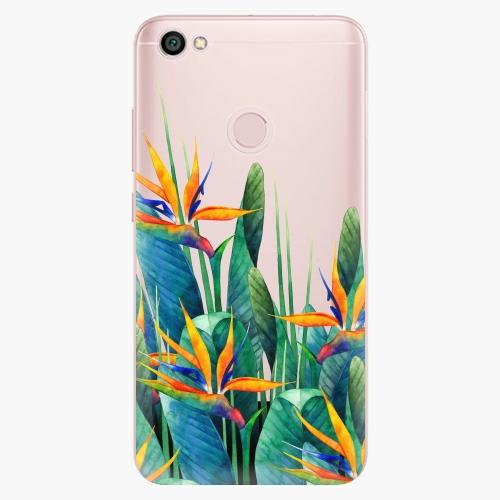 Silikonové pouzdro iSaprio - Exotic Flowers na mobil Xiaomi Redmi Note 5A / 5A Prime