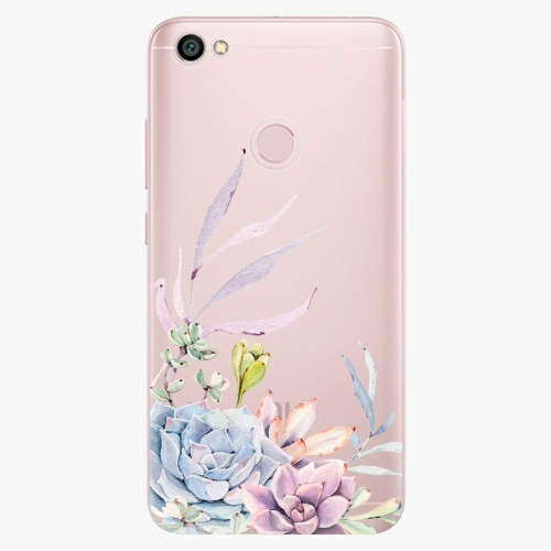 Silikonové pouzdro iSaprio - Succulent 01 na mobil Xiaomi Redmi Note 5A / 5A Prime