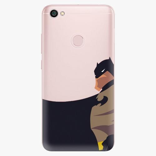 Silikonové pouzdro iSaprio - BaT Comics na mobil Xiaomi Redmi Note 5A / 5A Prime