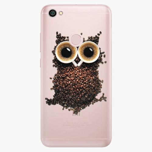 Silikonové pouzdro iSaprio - Owl And Coffee na mobil Xiaomi Redmi Note 5A / 5A Prime