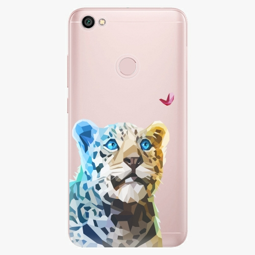 Silikonové pouzdro iSaprio - Leopard With Butterfly na mobil Xiaomi Redmi Note 5A / 5A Prime
