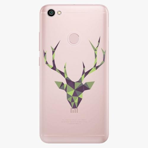 Silikonové pouzdro iSaprio - Deer Green na mobil Xiaomi Redmi Note 5A / 5A Prime