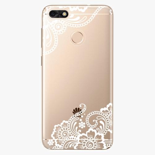 Silikonové pouzdro iSaprio - White Lace 02 na mobil Huawei P9 Lite Mini