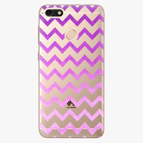 Silikonové pouzdro iSaprio - Zigzag purple na mobil Huawei P9 Lite Mini