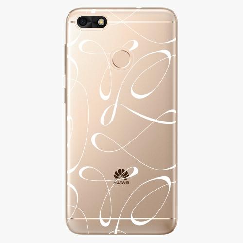 Silikonové pouzdro iSaprio - Fancy white na mobil Huawei P9 Lite Mini