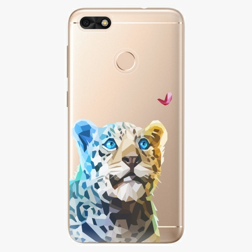 Silikonové pouzdro iSaprio - Leopard With Butterfly na mobil Huawei P9 Lite Mini