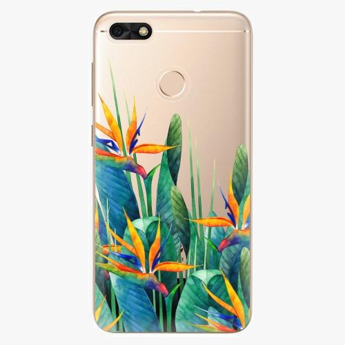 Silikonové pouzdro iSaprio - Exotic Flowers na mobil Huawei P9 Lite Mini