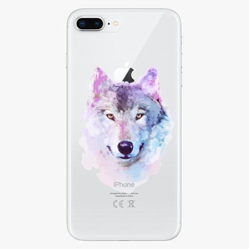 Silikonové pouzdro iSaprio - Wolf 01 na mobil Apple iPhone 8 Plus