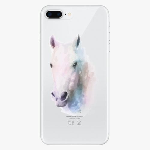 Silikonové pouzdro iSaprio - Horse 01 na mobil Apple iPhone 8 Plus