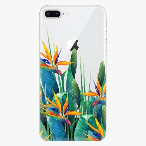 Silikonové pouzdro iSaprio - Exotic Flowers na mobil Apple iPhone 8 Plus