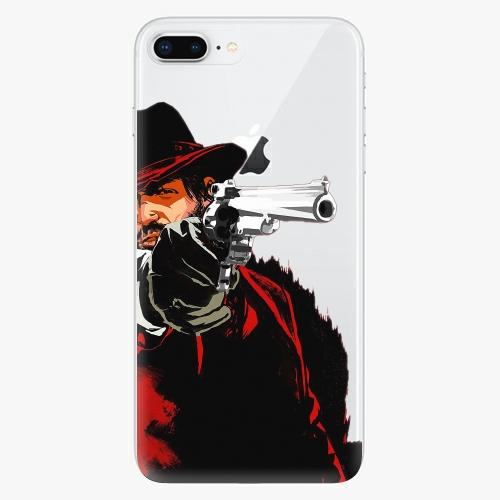 Silikonové pouzdro iSaprio - Red Sheriff na mobil Apple iPhone 8 Plus
