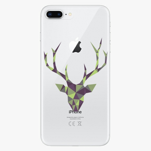 Silikonové pouzdro iSaprio - Deer Green na mobil Apple iPhone 8 Plus