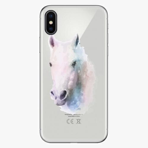 Silikonové pouzdro iSaprio - Horse 01 na mobil Apple iPhone X