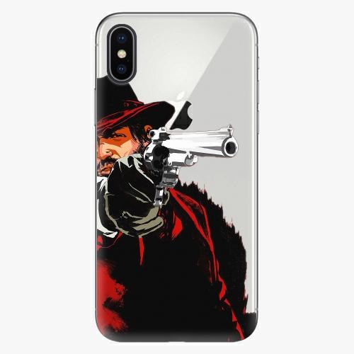 Silikonové pouzdro iSaprio - Red Sheriff na mobil Apple iPhone X