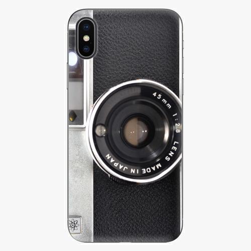 Silikonové pouzdro iSaprio - Vintage Camera 01 na mobil Apple iPhone X