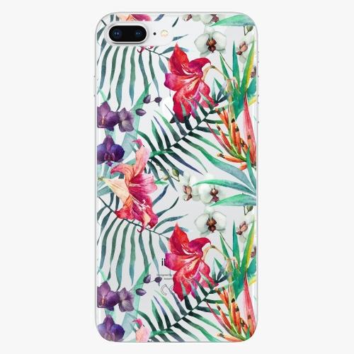 Silikonové pouzdro iSaprio - Flower Pattern 03 na mobil Apple iPhone 8 Plus
