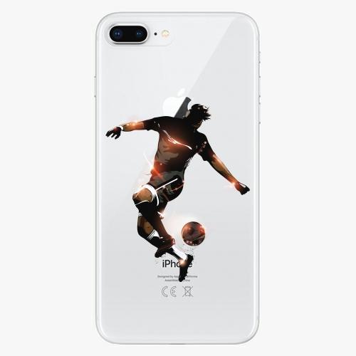 Silikonové pouzdro iSaprio - Fotball 01 na mobil Apple iPhone 8 Plus