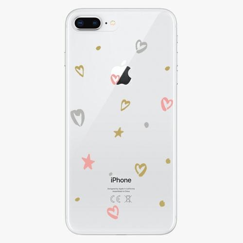 Silikonové pouzdro iSaprio - Lovely Pattern na mobil Apple iPhone 8 Plus