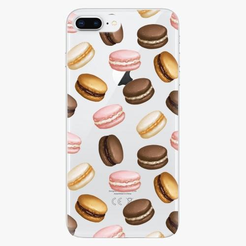 Silikonové pouzdro iSaprio - Macaron Pattern na mobil Apple iPhone 8 Plus