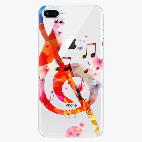 Silikonové pouzdro iSaprio - Music 01 na mobil Apple iPhone 8 Plus