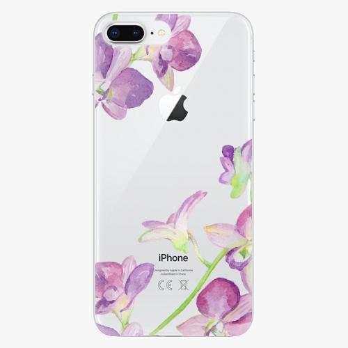 Silikonové pouzdro iSaprio - Purple Orchid na mobil Apple iPhone 8 Plus