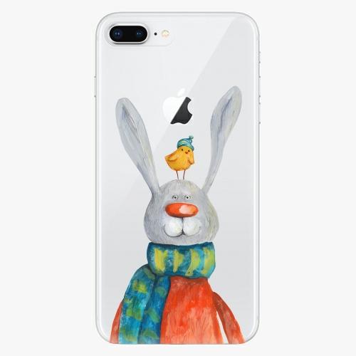 Silikonové pouzdro iSaprio - Rabbit And Bird na mobil Apple iPhone 8 Plus