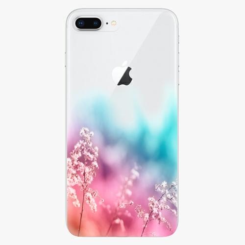 Silikonové pouzdro iSaprio - Rainbow Grass na mobil Apple iPhone 8 Plus