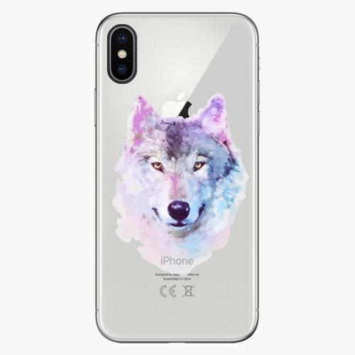 Silikonové pouzdro iSaprio - Wolf 01 na mobil Apple iPhone X