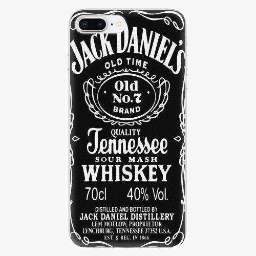 Silikonové pouzdro iSaprio - Jack Daniels na mobil Apple iPhone 8 Plus