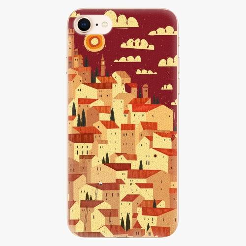 Silikonové pouzdro iSaprio - Mountain City na mobil Apple iPhone 8 ... 6bc229c997f