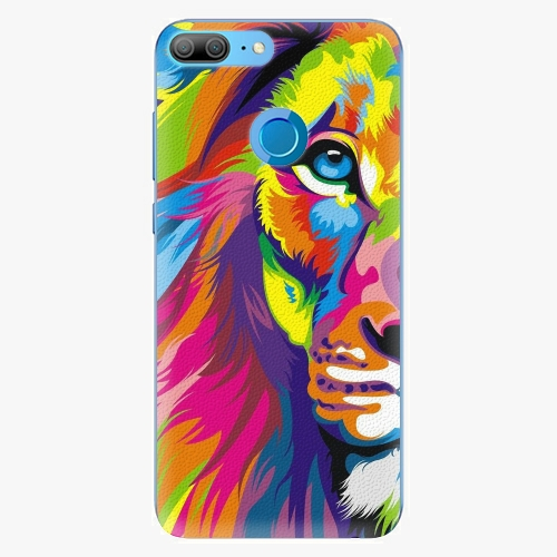 Silikonové pouzdro iSaprio - Rainbow Lion na mobil Honor 9 Lite