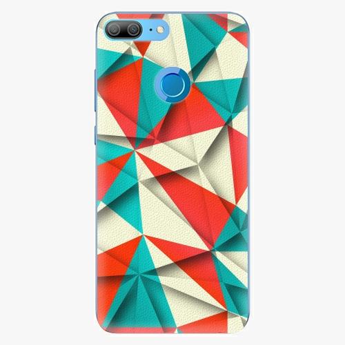 Silikonové pouzdro iSaprio - Origami Triangles na mobil Honor 9 Lite