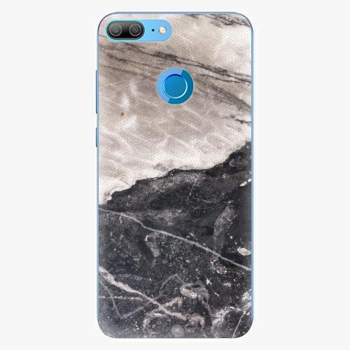 Silikonové pouzdro iSaprio - BW Marble na mobil Honor 9 Lite