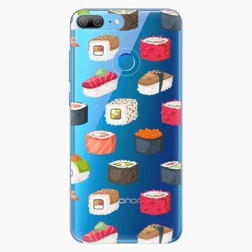 Silikonové pouzdro iSaprio - Sushi Pattern na mobil Honor 9 Lite