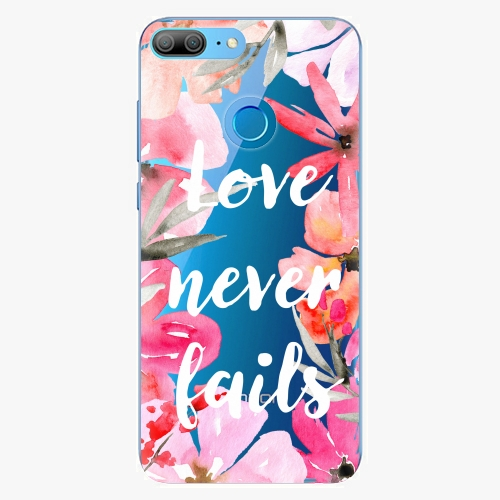 Silikonové pouzdro iSaprio - Love Never Fails na mobil Honor 9 Lite