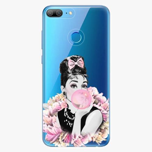 Silikonové pouzdro iSaprio - Pink Bubble na mobil Honor 9 Lite