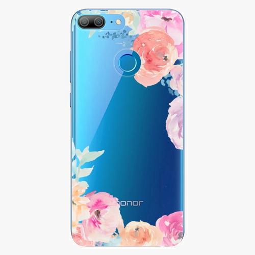 Silikonové pouzdro iSaprio - Flower Brush na mobil Honor 9 Lite