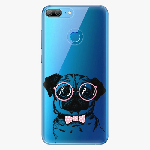 Silikonové pouzdro iSaprio - The Pug na mobil Honor 9 Lite