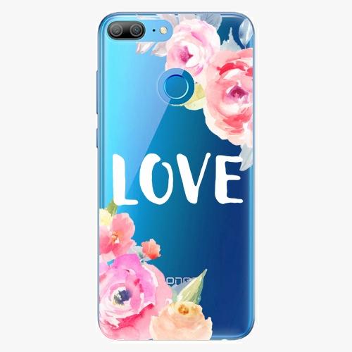 Silikonové pouzdro iSaprio - Love na mobil Honor 9 Lite