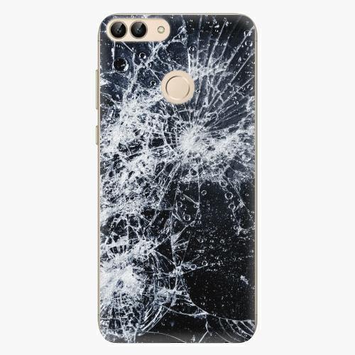 Silikonové pouzdro iSaprio - Cracked na mobil Huawei P Smart