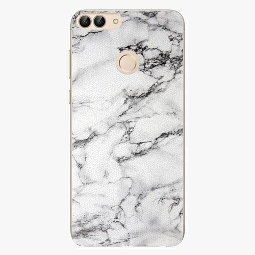 Silikonové pouzdro iSaprio - White Marble 01 na mobil Huawei P Smart