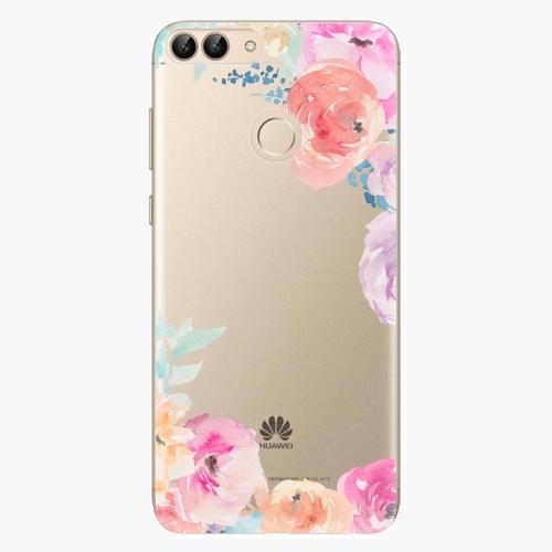 Silikonové pouzdro iSaprio - Flower Brush na mobil Huawei P Smart